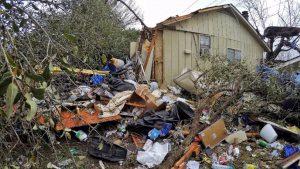 San Antonio tornado damage